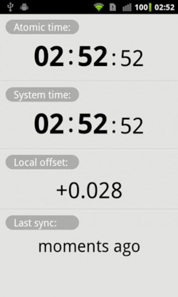 Программа для автоматической синхронизации времени на Android