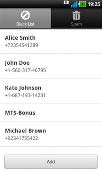 Фильтрация СМС-спама на Android